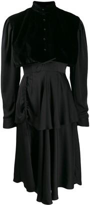 Almaz Tiered Midi Dress
