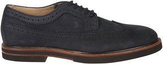 Tod's Tods Perforated Light Casual Derby Shoes