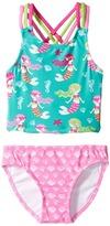 Hatley Sweet Mermaid Sporty Tankini Set (Toddler/Little Kids/Big Kids)