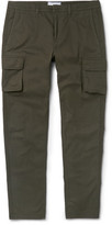 Ami - Slim-fit Cotton-gabardine Cargo Trousers