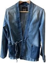 Denham Jeans Blue Denim - Jeans Jacket for Women