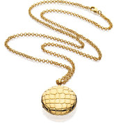 Estee Lauder Limited Edition Beautiful Golden Alligator Necklace