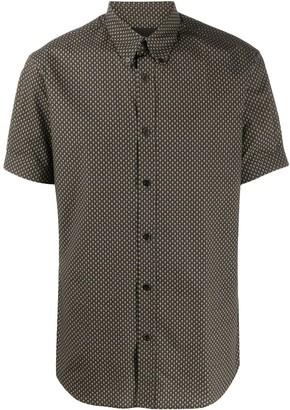 Alexander McQueen Skull-Print Button-Down Shirt