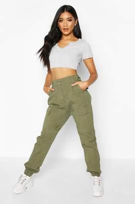 boohoo Cargo Denim Jeans
