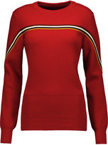 Isabel Marant Arlo striped wool-blend sweater