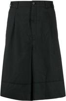 Comme des Garcons tailored wide leg shorts