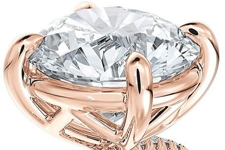 Thumbnail for your product : Forevermark Delicate Icon(TM) Setting Round Diamond Engagement Ring