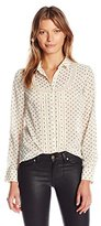 French Connection Women's Daisy Star Sheer