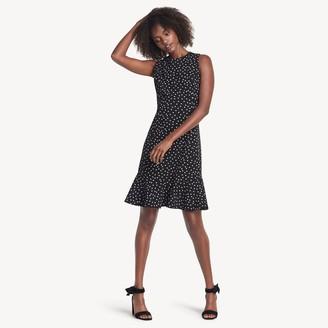 Tommy Hilfiger Essential Sleeveless Dot Print Dress