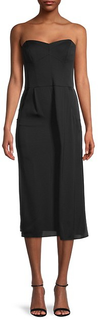 Milly Stretch-Silk Crepe Jumpsuit