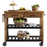 Crosley Roots Rolling Rack Industrial Kitchen Cart