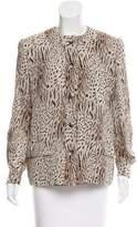 Bill Blass Printed Casual Jacket