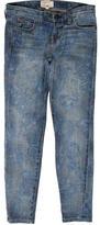 Current/Elliott Printed Straight-Leg Jeans w/ Tags