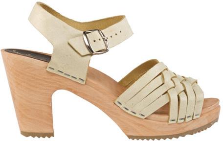 Cape Clogs Women's Herringbone Champagne Sandal