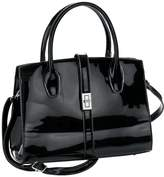 Heine Patent Faux Leather Bag