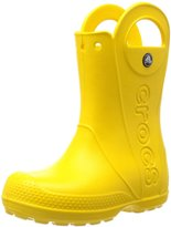 Crocs Handle It Rain Boot Kids (Tod/Yth) - Yellow-2 Youth