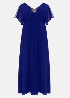 Phase Eight Albertina Sequin Maxi Dress