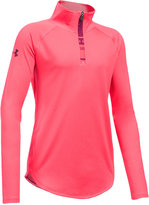 Under Armour UA Tech Quarter-Zip Jacket, Big Girls (7-16)
