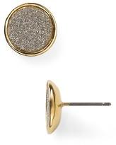 ABS by Allen Schwartz Glitter Stud Earrings