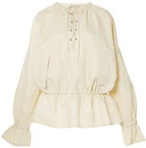 J.W.Anderson Oversized Blouse with Front Lacing