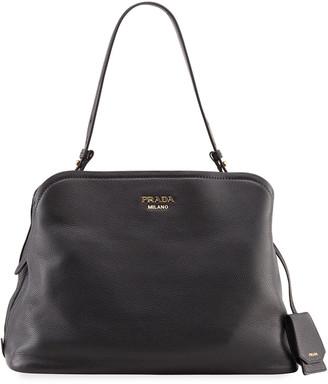 Prada Large Matinee Top Handle Tote Bag