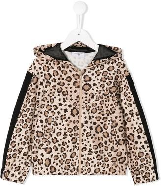 MonnaLisa Leopard Print Jacket