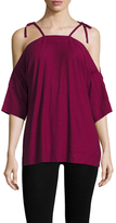 Plenty by Tracy Reese Cotton Off The Shoulder Top