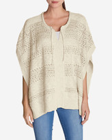 Eddie Bauer Women's Madrona Poncho Sweater