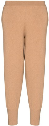 Stella McCartney Tapered-Fit Knitted Track Pants