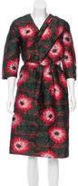 Michael Van Der Ham Jacquard Floral Dress w/ Tags