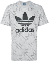 adidas logo patch T-shirt