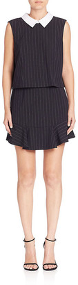 BCBGMAXAZRIA Collared Shift Dress
