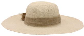 Morgan & Taylor RE0235 Large Brim With Ribbon Summer Hat