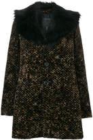 Marc Jacobs printed corduroy coat