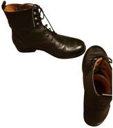 Agnã ̈S B. AgnAs B. Black Leather Ankle boots