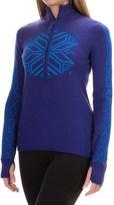 Obermeyer Avalon Sweater - Merino Wool Blend, Zip Neck (For Women)