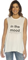 Peace Love World In The Mood For Strength S/L Lunes Top
