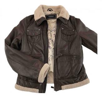 Oakwood Brown Leather Jackets