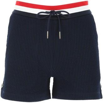Thom Browne Seersucker Tricolour Striped Waistband Shorts