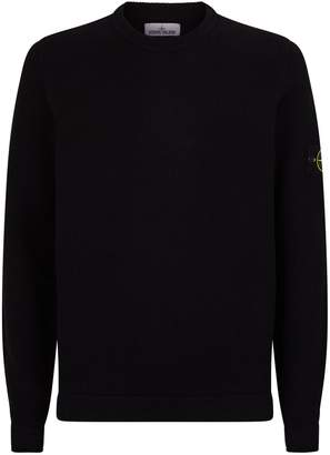 Stone Island Logo Badge Sweater
