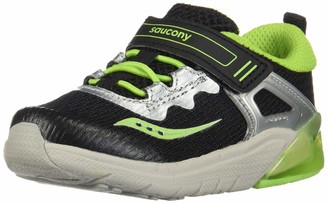 Saucony Boy's S-Flash Glow JR Shoe
