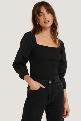 Trendyol Square Neck LS Blouse