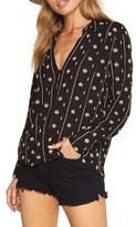 Amuse Society Women's Stinston Woven Shirt