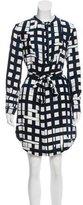 Piamita Silk Knee-Length Dress w/ Tags