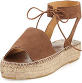 Andre Assous Selena Suede Espadrille Sandal, Brown