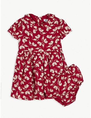 Ralph Lauren Floral cotton dress and knickers set 3-24 months