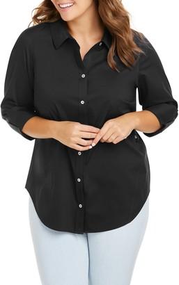 Foxcroft Marianne Stretch Tunic Shirt