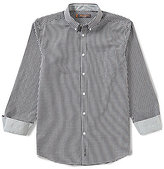 Ben Sherman Long-Sleeve Gingham Shirt