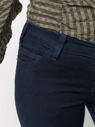 Current/Elliott Low Rise Skinny Cut Jeans