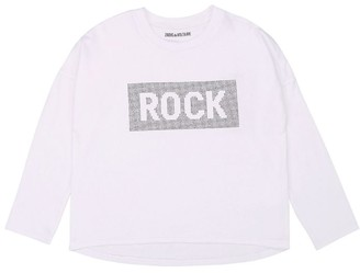 Zadig & Voltaire Embellished ROCK T-Shirt (6-16 Years)